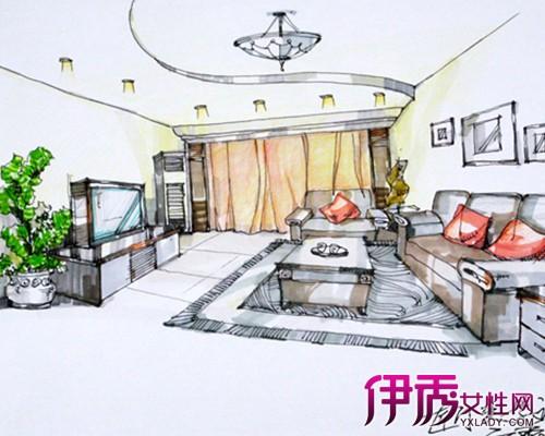 【客厅手绘效果图】【图】农村客厅手绘效果图简介