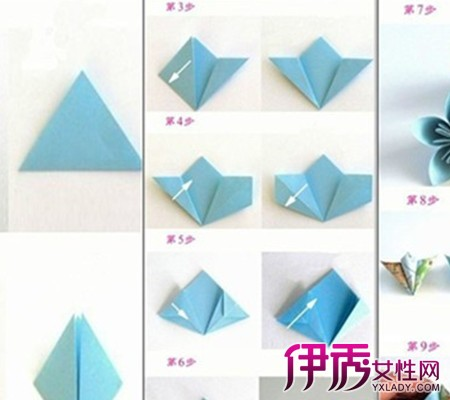 【图】如何折纸花步骤图解