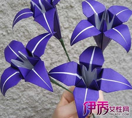 【手工制作大全折纸花】【图】手工制作大全折纸花