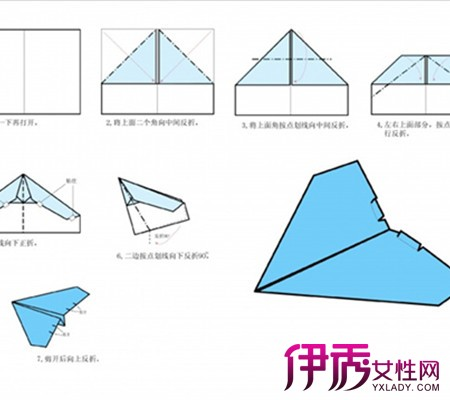 【图】折纸飞机步骤图展示 4大类型让你爱不释手