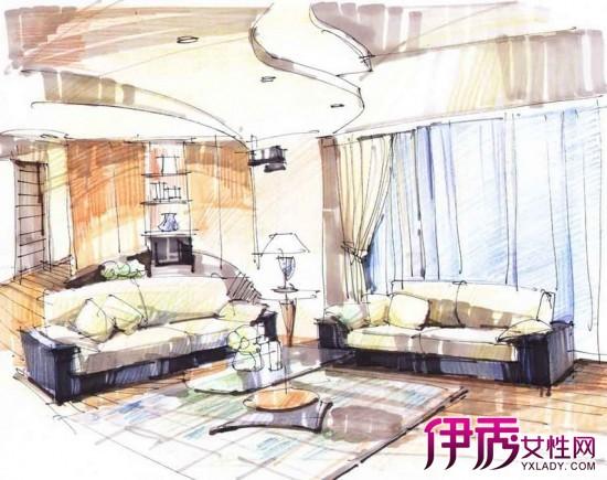 【图】家具手绘图片欣赏 多种风格特点你喜欢那种?