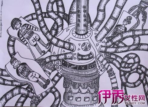 手绘科幻画怎样画好? 抓住主题的设计是关键