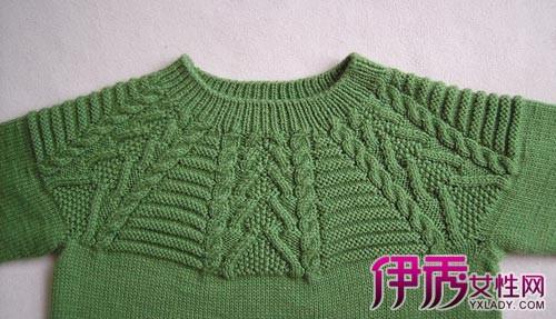 【从上往下织毛衣图解】【图】从上往下织毛衣图解