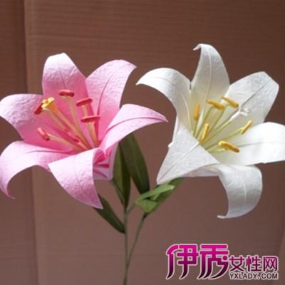【手工折纸】折纸百合花