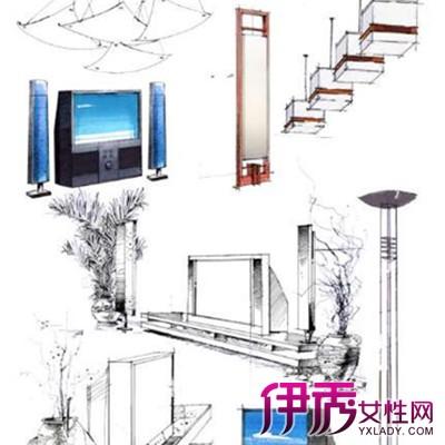 【图】家具手绘图展示大全 盘点各类家具手绘的特点