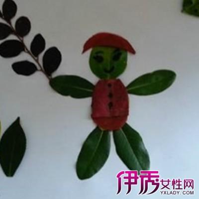 【图】简单的创意树叶贴画方法 呈现精致动人的树叶贴画