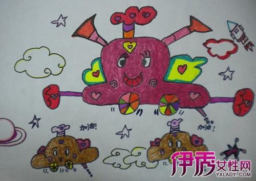 【小学生科技创意画】【图】小学生科技创意画图片图片