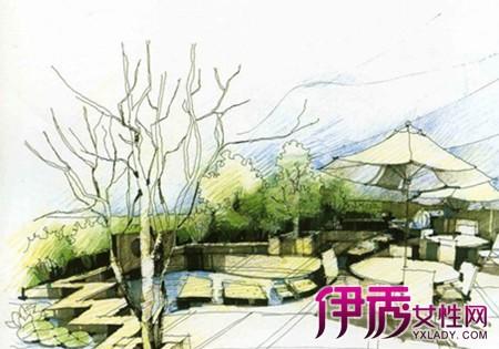 【图】看景观园林平面图手绘
