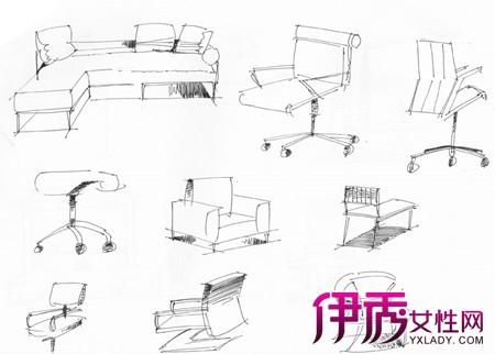【图】手绘单体家具图片大全 设计师须知的两大行业现状