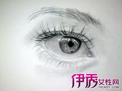 人物眼睛照片转手绘效果的ps方法