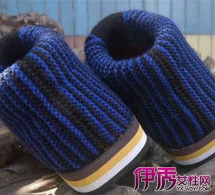 【图】毛线棉鞋的织法