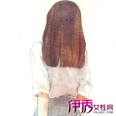 【手绘长发女孩背影】【图】手绘长发女孩背影图片