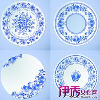 【图】欣赏青花瓷盘子图片手绘图 几个技巧让你绘出喜欢的图案