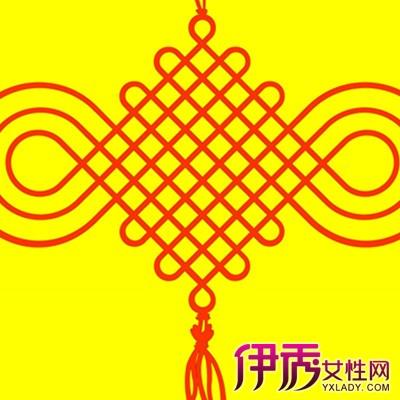 【图】中国结图片简笔画欣赏 几个简单的步骤就可以编制中国结图片