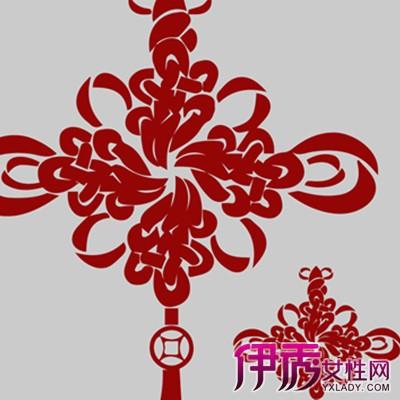 【图】中国结图片简笔画欣赏 几个简单的步骤就可以编制中国结