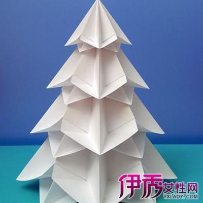 【图】圣诞树折纸图片大全 六大步教你学会折圣诞树
