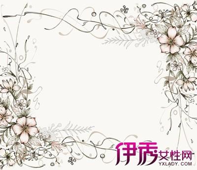 【图】手绘小清新花边边框图片欣赏 快速手绘的几种技巧介绍