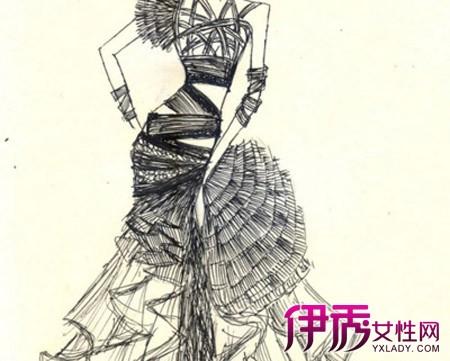 【铅笔手绘服装设计图】【图】铅笔手绘服装设计图