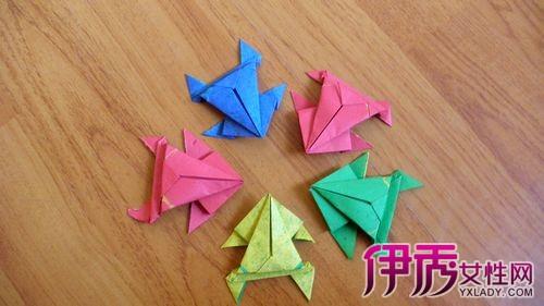 能吹的青蛙折纸方法教程图解_青蛙折纸方法步骤图   春风吹什么了桃花