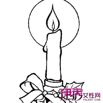 【图】展示蜡烛简笔画的图片 多种视角全面展现物体形象