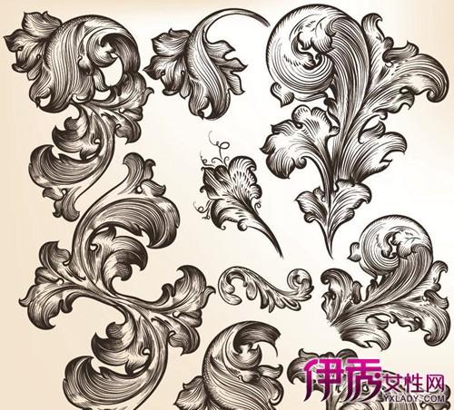 【手绘花纹】【图】欣赏手绘花纹图片