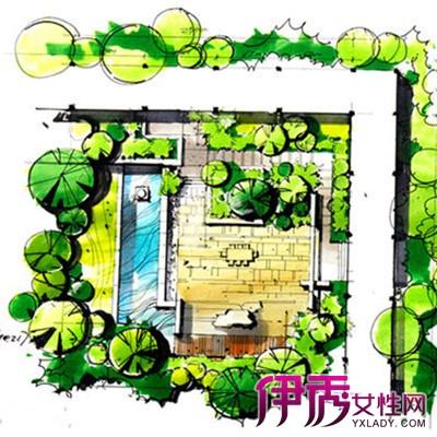 【景观设计手绘平面图】【图】景观设计手绘平面图