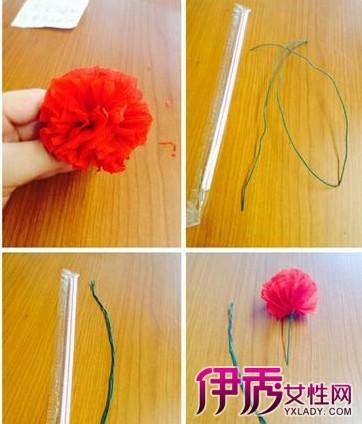 【图】折纸花之康乃馨的折法 为母亲献上你的手折康乃馨吧
