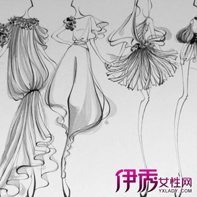 【图】米兰手绘服装设计图欣赏