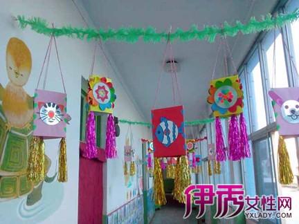 【图】幼儿园教室吊饰制作