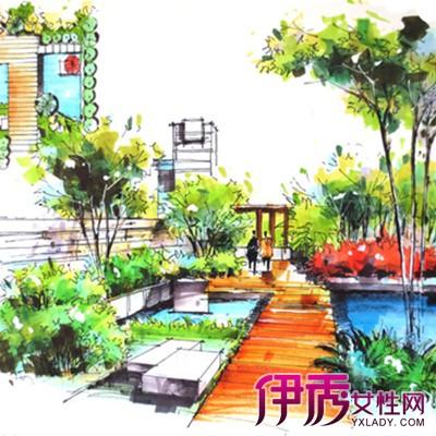 【图】景观手绘平面效果图欣赏 手绘的5个作画步骤揭秘