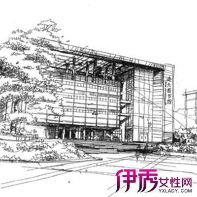 【图】鉴赏现代建筑手绘图 深入了解手绘精髓