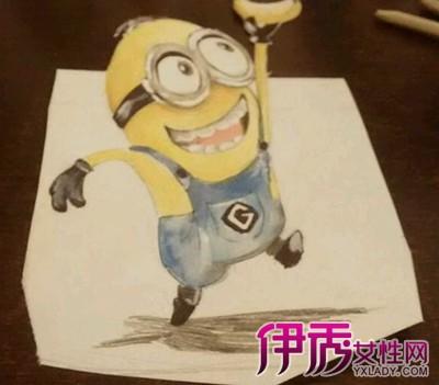 【小黄人手绘图】【图】小黄人手绘图片大全