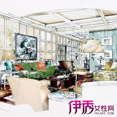 室内设计手绘图 为你介绍室内设计的4种设计流派