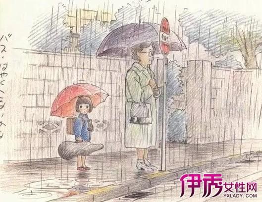 【插画手绘】【图】宫崎骏40年插画手绘