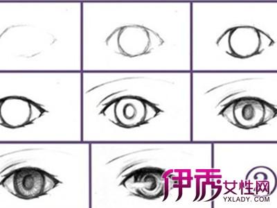 【图】眼睛手绘教程 描绘八大种眼睛