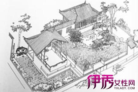 【古代建筑手绘】【图】古代建筑手绘图片