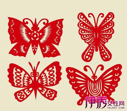 [【图】蝴蝶对称剪纸步骤 剪出精美的蝴蝶图案