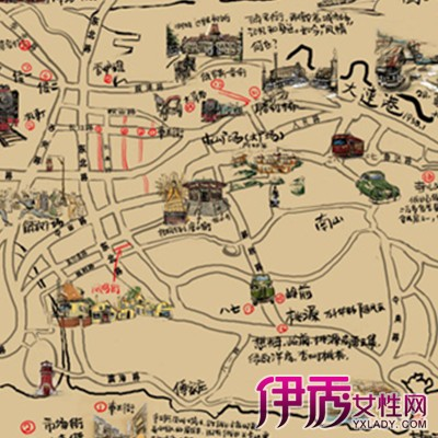 【手绘地图】【图】手绘地图图片展示