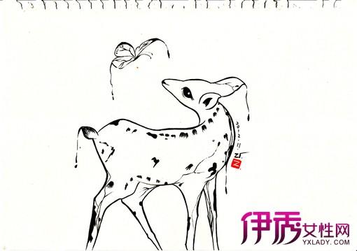【图】黑白手绘插画艺术图片