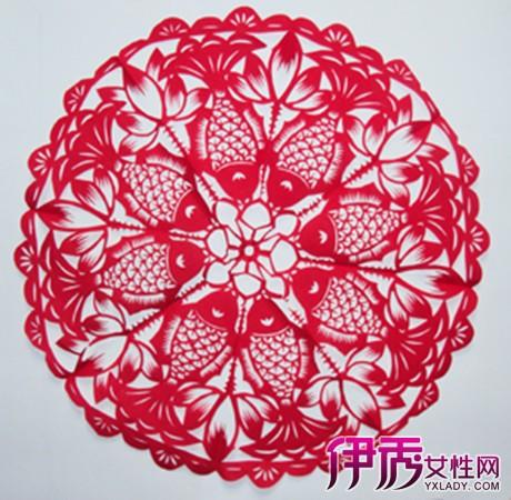 中国折叠剪纸图 多种形式让你有不一样的审美情趣
