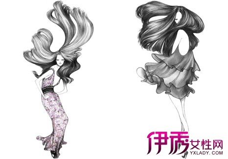 【图】手绘女生服装设计图鉴赏