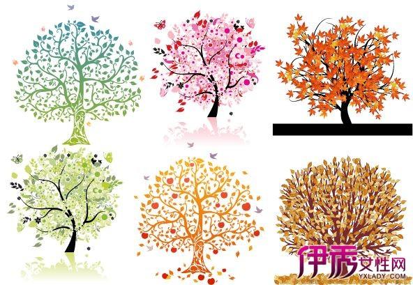 手绘树的图片大集锦 普及树的画法与表现技法知识