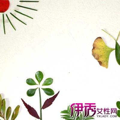 【图】树叶贴画作品展示 介绍贴画的三大品种