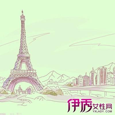 【巴黎铁塔手绘】【图】巴黎铁塔手绘图片欣赏