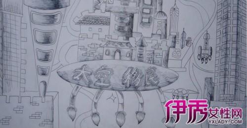 【图】手绘科幻画图片欣赏 教你区分科幻画与科普画