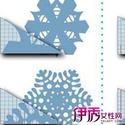 【连续花边剪纸步骤图】【图】连续花边剪纸步骤图