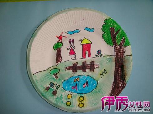 【图】纸碟画手绘图片欣赏 闲情涂鸦享受艺术