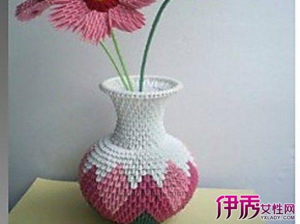 【三角折纸花瓶图解】【图】三角折纸花瓶图解