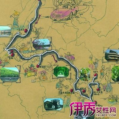 【手绘旅游线路图】【图】手绘旅游线路图欣赏