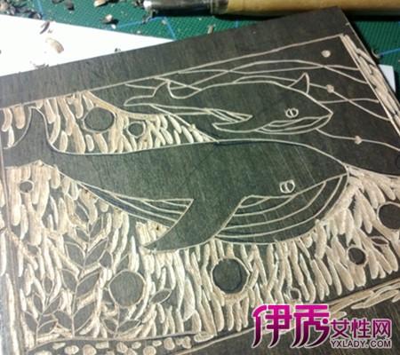 木刻版画还可以制作出彩色的版画